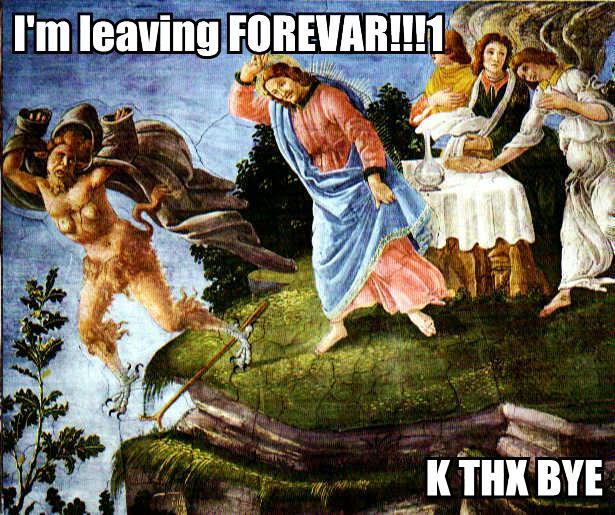 Satan K THX Bye