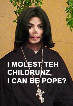 MJ can be pope now thx