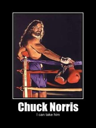 chuck norris i can take him