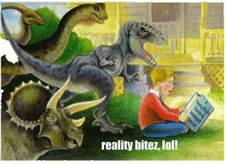 dinosaurs reality bitez