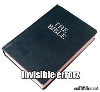 invizible errorz