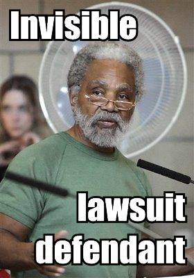 ernie chambers and the invisible lawsuit defendant