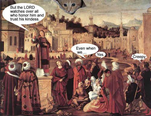 Ceiling Cat sermon