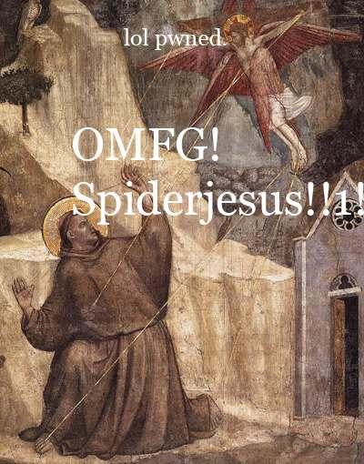 OMFG! Spiderjesus!