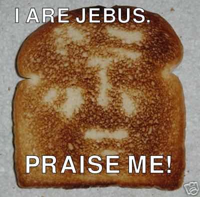 i are jebus: praise me