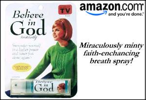 Believe In God Breath Spray
