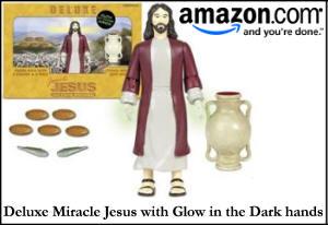 Deluxe Miracle Jesus Action Figure
