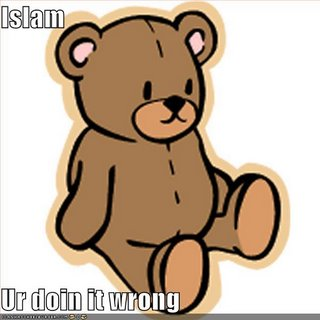 Islam ur doing it wrong