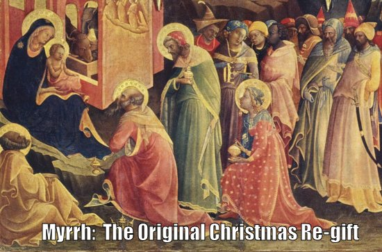 Myrrh Original Christmas Regift