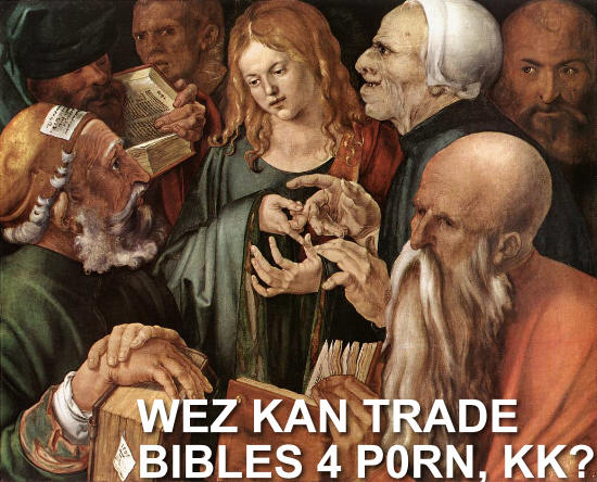 Bibles for Porn
