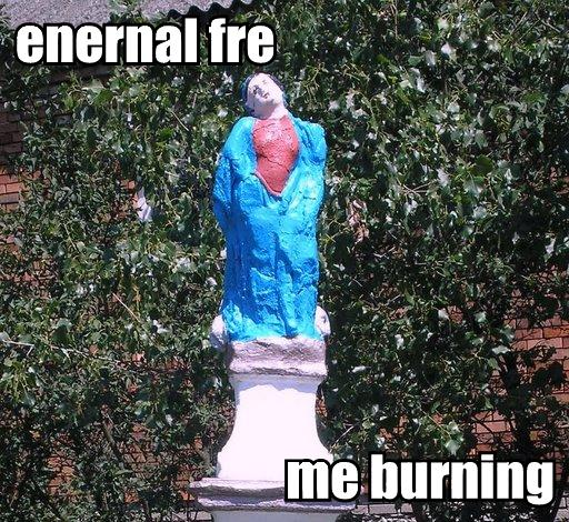 Eternal Fire me burning