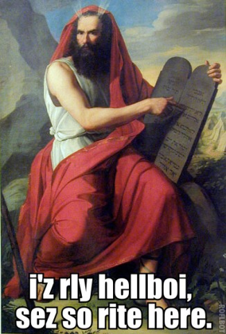 Hellboy Moses