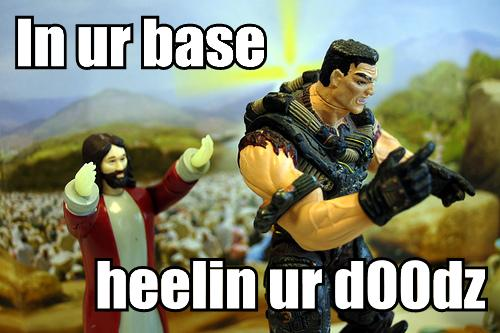 in ur base healin dudez