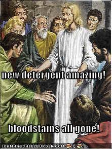 New Detergent Bloodstains