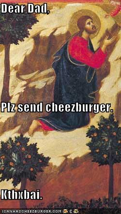 Send Cheezburger