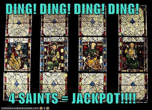 4 Saints Jackpot