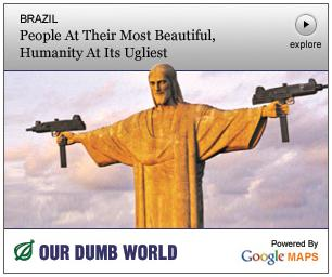 Christ Redeemer Onion Ad