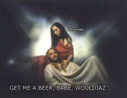get me a beer
