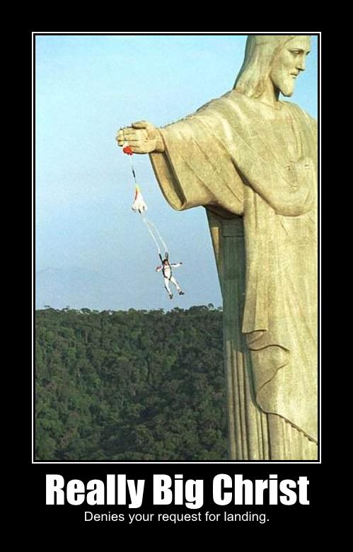 really big christ denies request landing