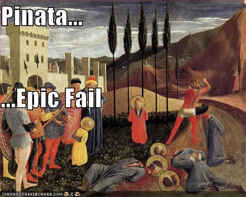 Pinata Epic Fail