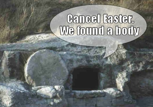 Cancel Easter Found Body