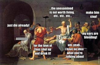 Socrates Just Die Already