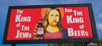 The King of the Jews for the King of Beers