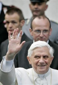 Pope Benedict the Devil Color