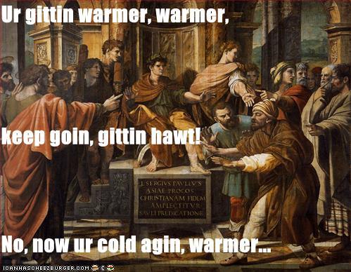 Ur gittin warmer