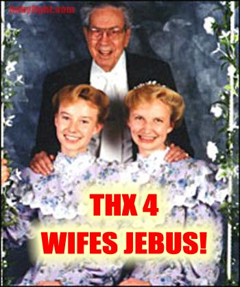 Thx 4 Wifes Jebus