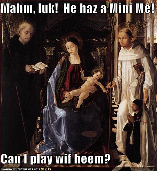 he haz a mini me
