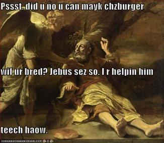 u can mayk chzburger