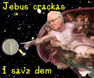 Jebus Crackas I savz dem
