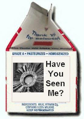Missing Eucharist Milk Carton