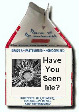 Missing Eucharist Milk Carton