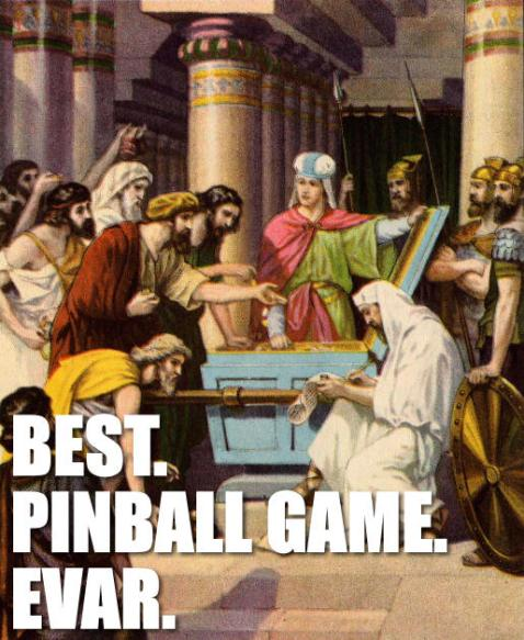 Best. Pinball Game. Evar.