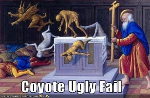 Coyote Ugly Fail