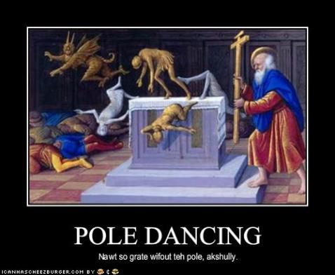 POLE DANCING Nawt So Grate AKshully