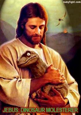 Jebus Dinosaur Molesterer