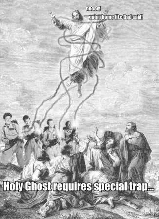Holy Ghost requires special trap.